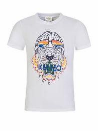 White Ski Tiger T-Shirt