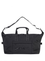 Black Nylon Zip-Through Holdall