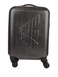 Grey ABS Trolley Bag