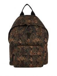 Green Digital Camo-Print Backpack