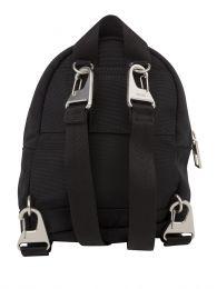 Black Mini Canvas Kampus Tiger Backpack
