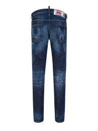 Blue Paint Splatter Cool Guy Jeans