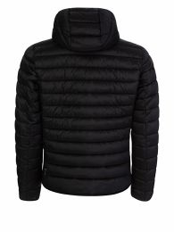 Black Ouston Hood Quilt Jacket