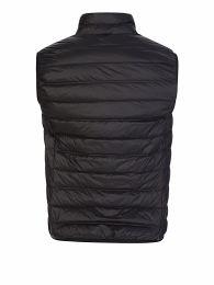 Emporio Armani Black Packable Zip-Through Gilet