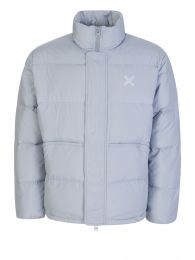 Grey Sport 'Little X' Puffer Jacket