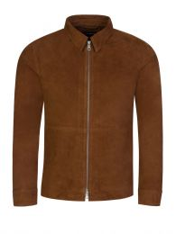 Brown Jonah Suede Overshirt