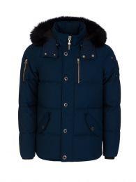 Blue Slim-Fit 3Q Jacket