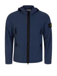 Dark Blue Skin Touch Nylon-TC Jacket