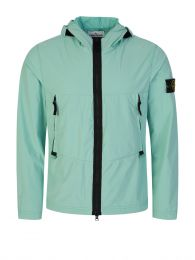 Green Skin Touch Nylon-TC Jacket