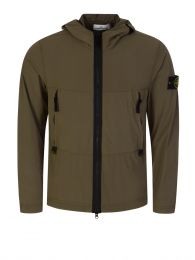 Dark Green Skin Touch Nylon-TC Jacket