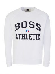 x Russell Athletic White Stedman Sweatshirt