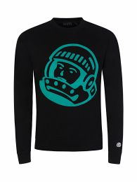 Black Astro Embroidered Sweatshirt