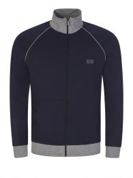 Navy Mix+Match Zip-Through Jacket