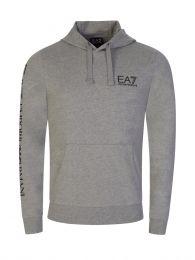 Grey Logo Hoodie