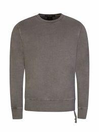 Grey Seeing Lines Sweatshirt