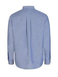 Blue Casual Tiger Crest Shirt
