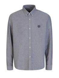 Grey Tiger Head Oxford Shirt