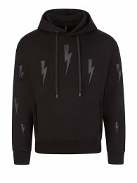 Black Halo Thunderbolts Popover Hoodie