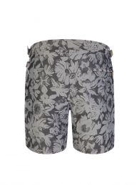 Black/Grey Bulldog X Byala Swim Shorts