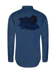 Blue Chilean Landscape Shirt
