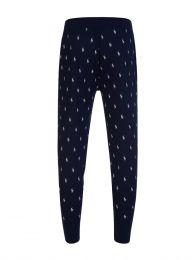 Navy Pony Print Lounge Pants