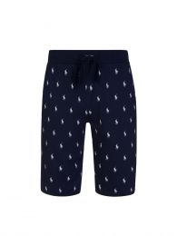 Navy Pony Print Shorts