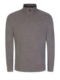 Grey 1/4 Zip Sweatshirt