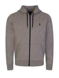 Grey Tech Zip Hoodie