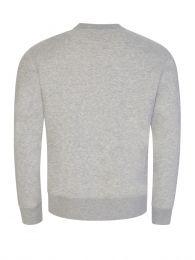 Grey Marina Polo Bear Fleece Pullover