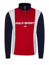 Red Polo Sport 1/4 Zip Sweatshirt