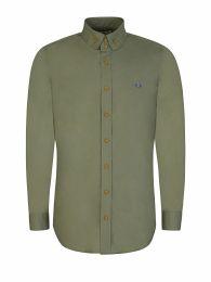 Green Two-Button Krall Shirt