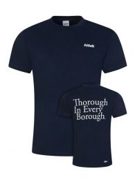 Navy Thorough Borough T-Shirt