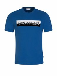 Blue Split Logo T-Shirt