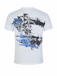 White Back Print T-Shirt