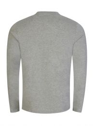 Grey Long Sleeve Sleep T-Shirt