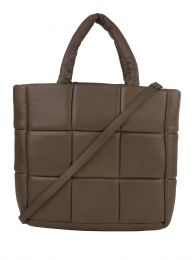 Brown Leather Assante Tote Bag