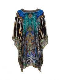 Animal Army Kaftan Dress
