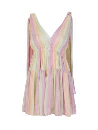 Multicoloured Fanya Mini Dress
