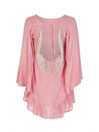 Pink Indiana Mini Dress