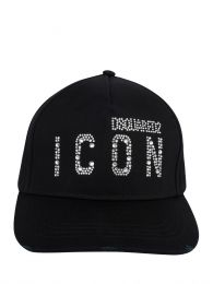 Black Diamante ICON Cap