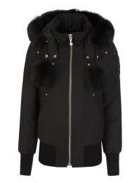 Black Debbie Bomber Jacket