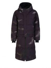 Camo Print Naswa Oversized Puffer Coat