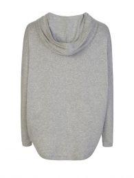 Grey Pullover Hoodie
