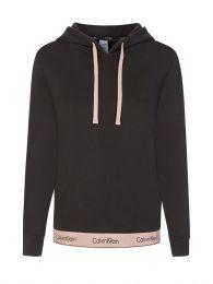 Black Modern Cotton Hoodie