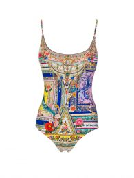 Party In The Palace Scoop Neck Swimsuit