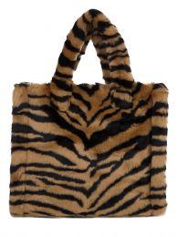 Brown Tiger-Print Lolita Bag