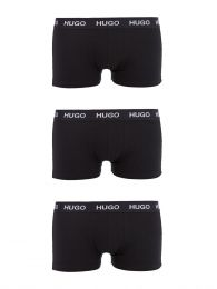 Black Cotton Stretch Trunks 3-Pack