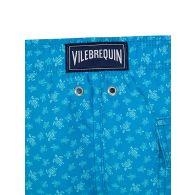 Vilebrequin Junior Blue Micro Turtles Swim Shorts