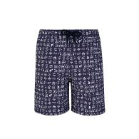 Vilebrequin Junior Navy Fortune Teller Turtles Swim Shorts