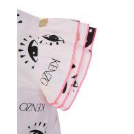 KENZO Kids Pink Eye Frill Sleeve Top